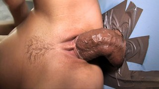 Aleska Diamond glory hole Big black cock sucking after fucking